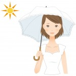 紫外線対策でシミソバカスを未然に防いでうっとり色白美白肌
