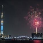 隅田川花火大会がよく見える穴場的ホテルで快適に花火を見る