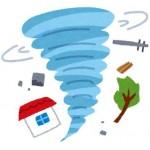 竜巻が起きる原因や注意情報が出た際の行動。大分の竜巻地獄も