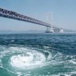 渦潮のメカニズム。鳴門の渦潮を見る淡路島の観光スポット