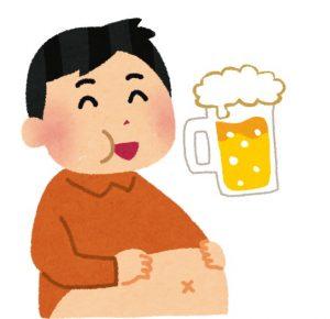 「ビール腹」の画像検索結果