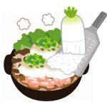 雪見鍋/みぞれ鍋の作り方としめにいれるもの。一風変わった具材