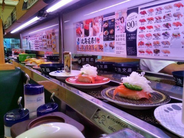 回転寿司のマナー