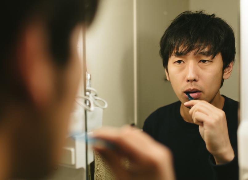 夫が全然歯を磨かなくて不潔