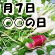 1月7日の記念日~春の七草以外は?