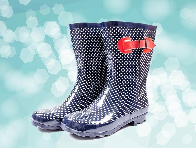 濡れた長靴を今日中に乾かしたい