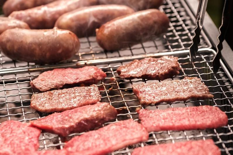 バーベキューでの肉と野菜のバランス考